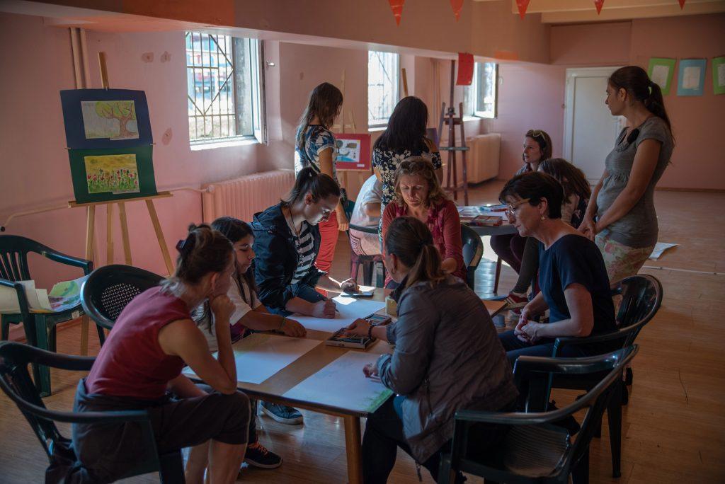 Atelier art thérapie en Bulgarie