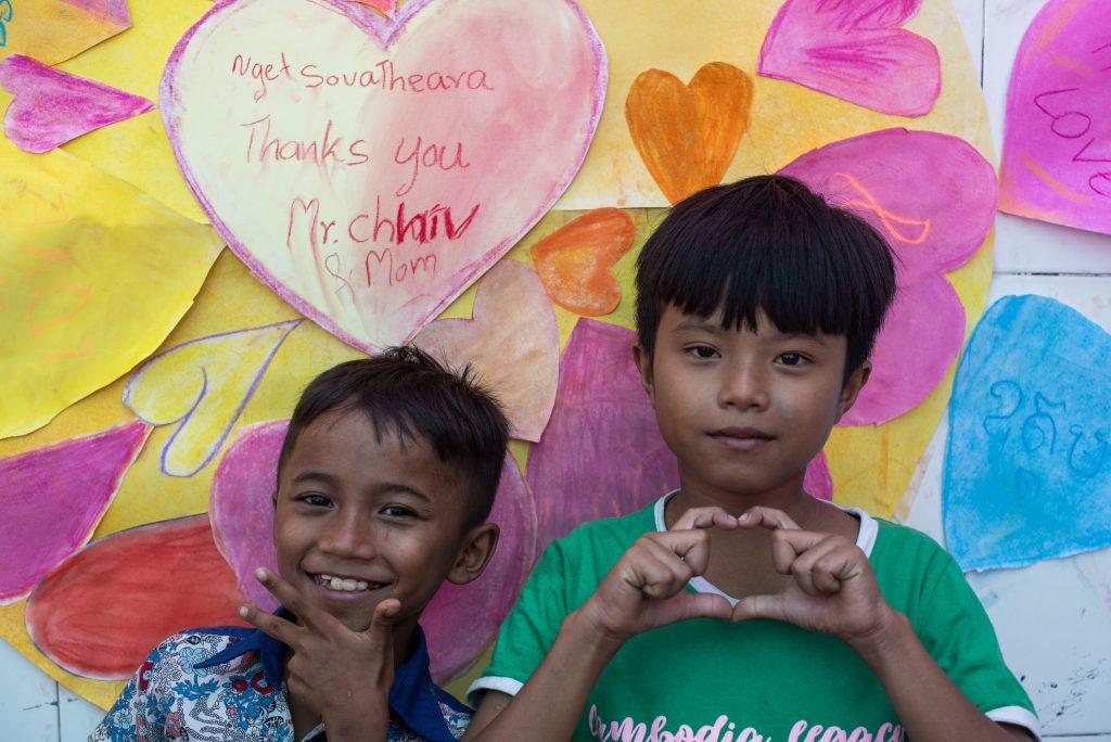 Enfants des rues de Phnom Penh