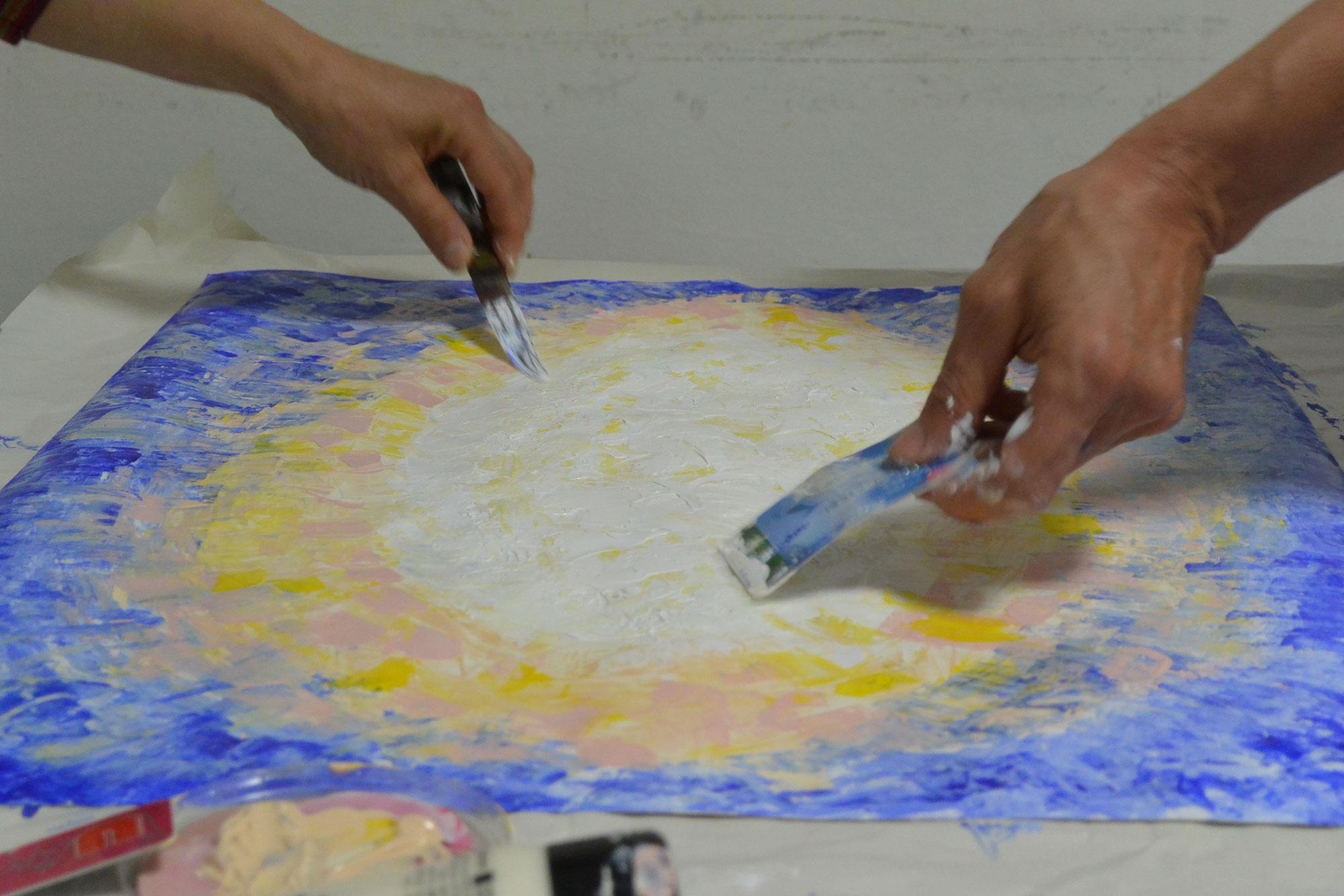 art thérapie co-créative