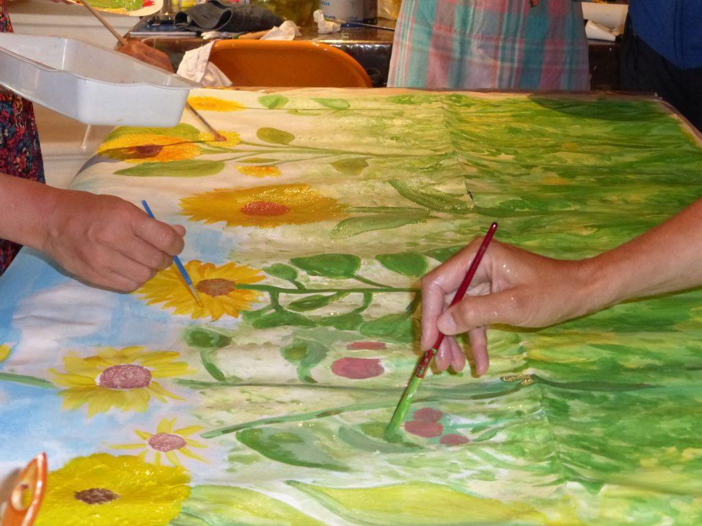tournesols:peinture