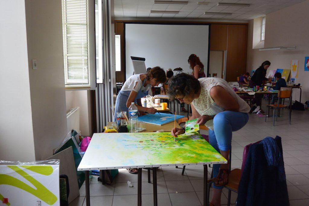 Stage à Saint Briac d'art thérapie créatifs