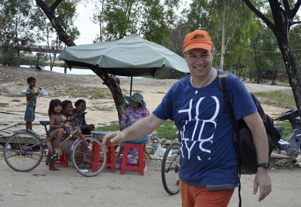 Valéry au Cambodge