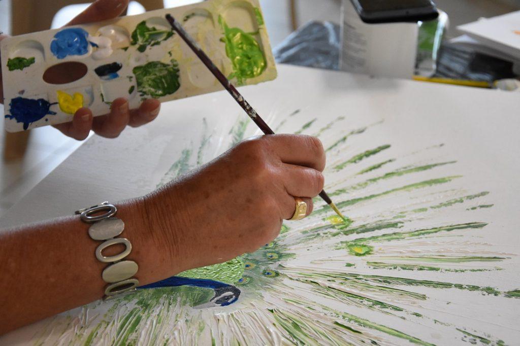 Peinture selon son inspiration